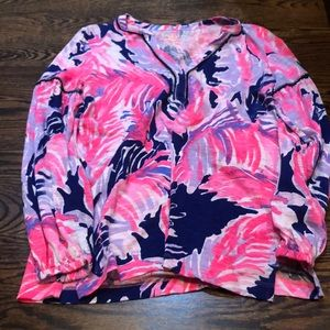 Great Lilly Pulitzer tunic - works for maternity!